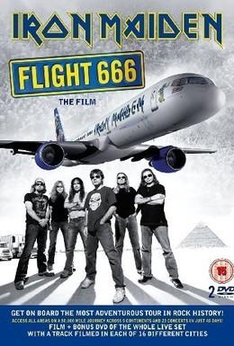 Постер фильма Iron Maiden – рейс 666 (2009)