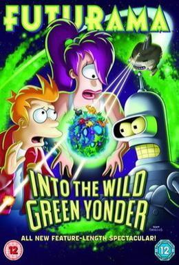 Постер фильма Футурама: В дикую зеленую даль (2009)