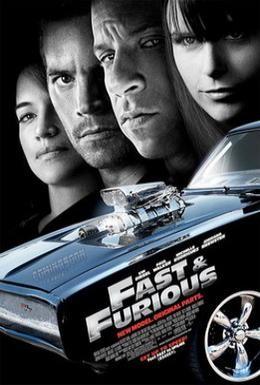 Постер фильма Форсаж 4 (2009)
