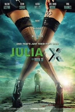 Постер фильма Юлия Икс (2011)