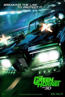 Постер фильма Зеленый шершень (2011)