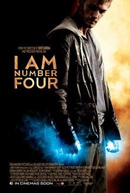 Постер фильма Я - Четвертый (2011)