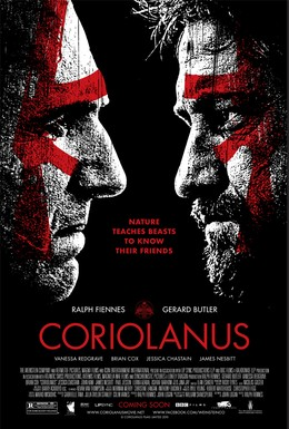 Постер фильма Кориолан (2011)