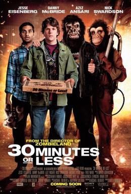 Постер фильма Успеть за 30 минут (2011)