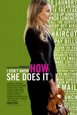 Постер фильма Я не знаю, как она делает это (2011)