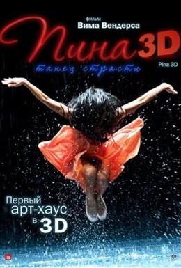 Постер фильма Пина: Танец страсти в 3D (2011)