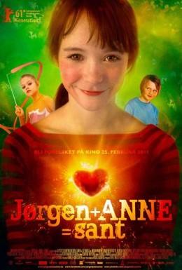 Постер фильма Йорген + Анна = любовь (2011)