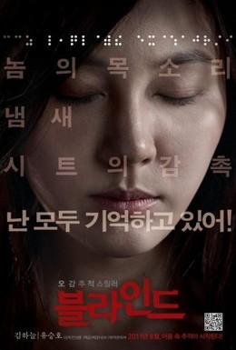 Постер фильма Слепая (2011)