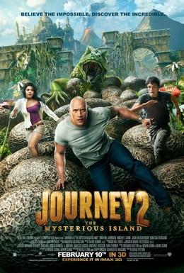 Постер фильма Путешествие 2: Таинственный остров (2012)
