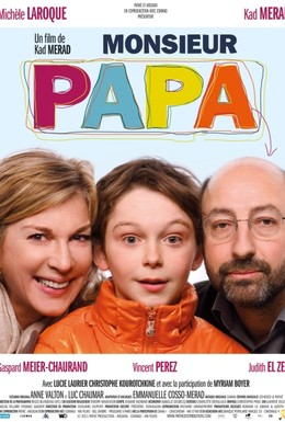 Постер фильма Месье Папа (2011)