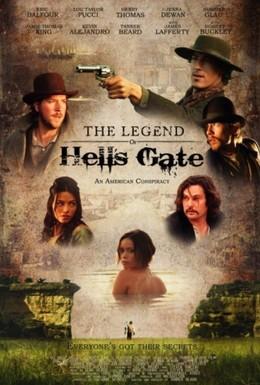 Постер фильма Легенда о вратах ада: Американский заговор (2011)