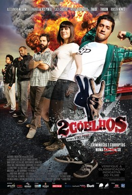 Постер фильма 2 зайца (2012)