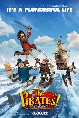 Постер фильма Пираты! Банда неудачников (2012)
