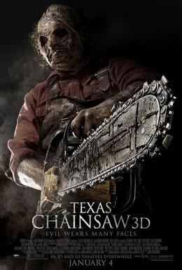 Постер фильма Техасская резня бензопилой 3D (2013)