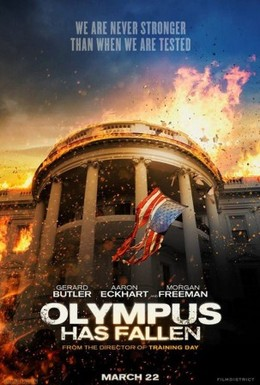 Постер фильма Падение Олимпа (2013)