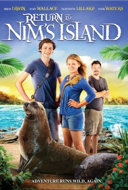 Постер фильма Возвращение на остров Ним (2013)