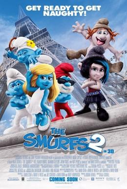 Постер фильма Смурфики 2 (2013)