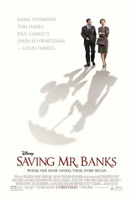 Постер фильма Спасти мистера Бэнкса (2013)