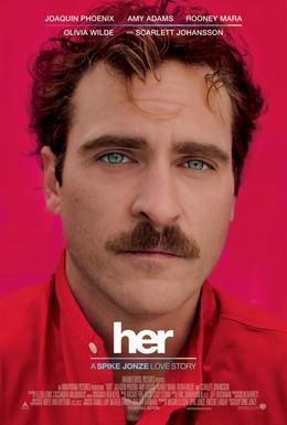 Постер фильма Она (2013)