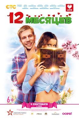 Постер фильма 12 месяцев (2013)
