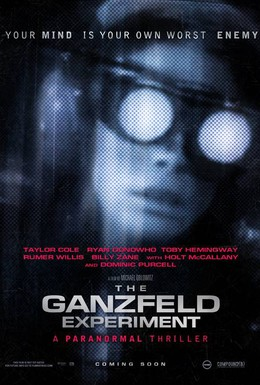 Постер фильма Эксперимент Ганцфельда (2014)