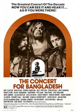 Постер фильма Концерт для Бангладеш (1972)