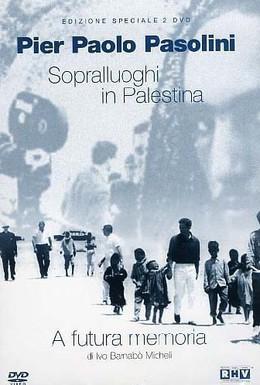 Постер фильма Выбор натуры в Палестине для Евангелия от Матфея (1965)