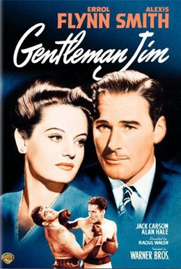 Постер фильма Джентльмен Джим (1942)