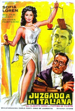 Постер фильма Один день в суде (1954)