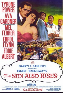 Постер фильма И восходит солнце (1957)