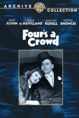Постер фильма Четверо – уже толпа (1938)
