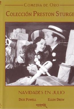 Постер фильма Рождество в июле (1940)