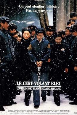 Постер фильма Синий бумажный змей (1993)