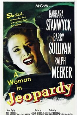 Постер фильма Опасность (1953)