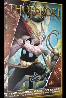 Постер фильма Тор и Локи: Кровные братья (2011)