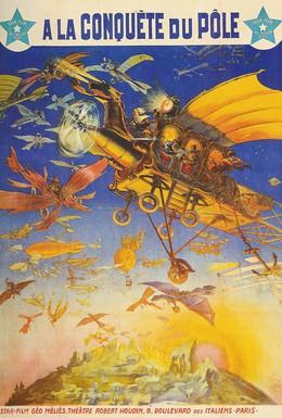 Постер фильма Завоевание полюса (1912)