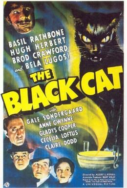 Постер фильма Чёрный кот (1941)