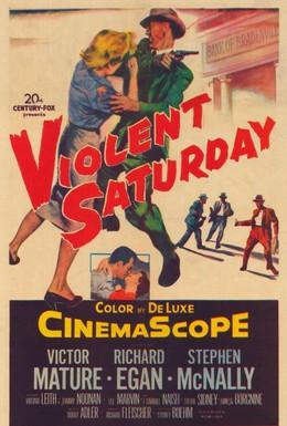 Постер фильма Жестокая суббота (1955)