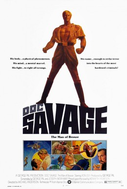 Постер фильма Док Сэвэдж: Человек из бронзы (1975)