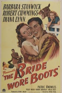 Постер фильма Невеста в сапогах (1946)