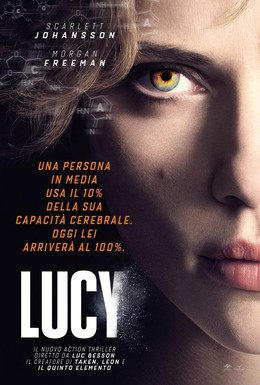 Постер фильма Люси (2014)