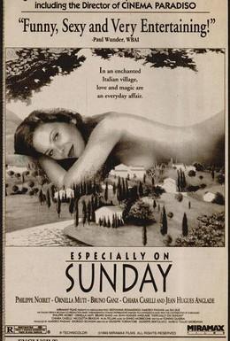 Постер фильма Особенно по воскресеньям (1991)