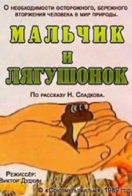 Постер фильма Мальчик и лягушонок (1989)