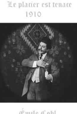 Постер фильма Настойчивый коммивояжер (1910)