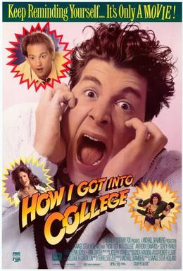Постер фильма Как я попал в колледж (1989)
