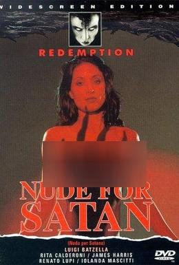 Постер фильма Обнаженная для Сатаны (1974)