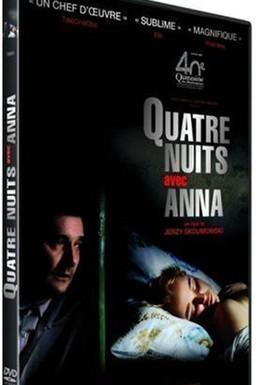 Постер фильма Четыре ночи с Анной (2008)