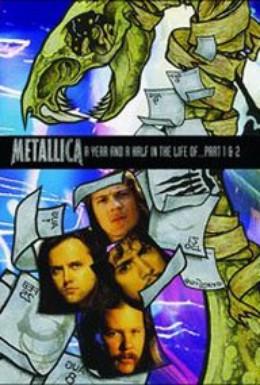 Постер фильма Полтора года из жизни Металлики (1992)