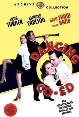 Постер фильма Танцующая студентка (1939)