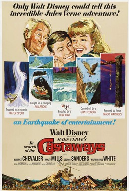 Постер фильма В поисках потерпевших кораблекрушение (1962)